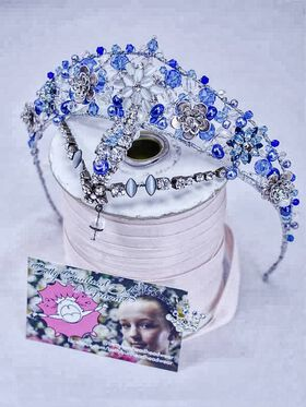 Couture Dance Tiara by Jacqui Hoole, Betty Bunhead Tiaras