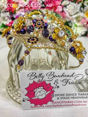 Petites Dance Tiara Betty Bunhead Tiaras