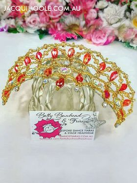 Classic Dance Tiara by Betty Bunhead Tiaras